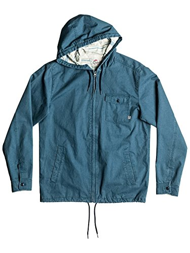 Herren Windbreaker Quiksilver Maxson Shore Windbreaker Indian Teal
