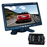 Buyee 7 inch TFT LCD Monitor+18 LED Reversing CCD Camera Car Reversing camera