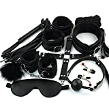 BDSM Fetisch Bondage Set 10 Stück SM Toys Leder Bondage Sets Rückhaltesets Damen Body Harness Set