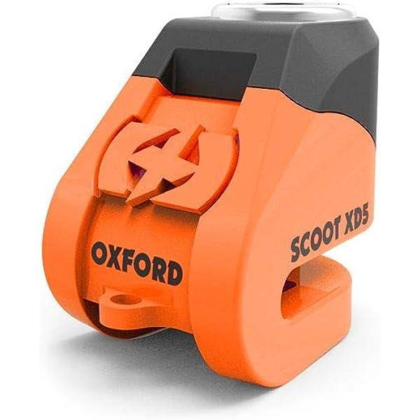 Oxford LK262 Black Scoot XD5 Alarm Disc Lock