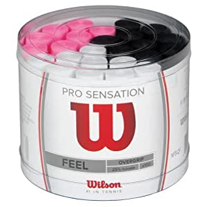 Wilson Pro Overgrip Sensation 100 Pack Assorted by Wilson