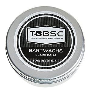 TBBSC Bartwachs (60g) Beard Balm zum Styling, Pomade, Bartpflege Wax für Männer