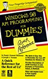 Windows 98 API Programming (For Dummies Quick Reference)