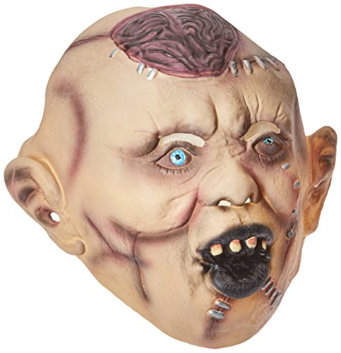 Ideen Halloween Party Scary (Smiffys, Herren Autopsie Zombie Maske, One Size,)