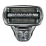 Braun Series 7 7898cc Elektrischer Rasierer (mit Reinigungsstation clean & charge, Rasierapparat, Elektrorasierer mit Reise-Etui) silber -