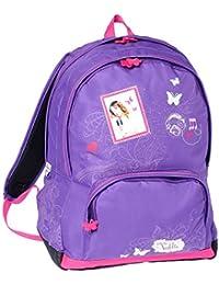 Preisvergleich für Rucksack Violetta 2Fächer violett