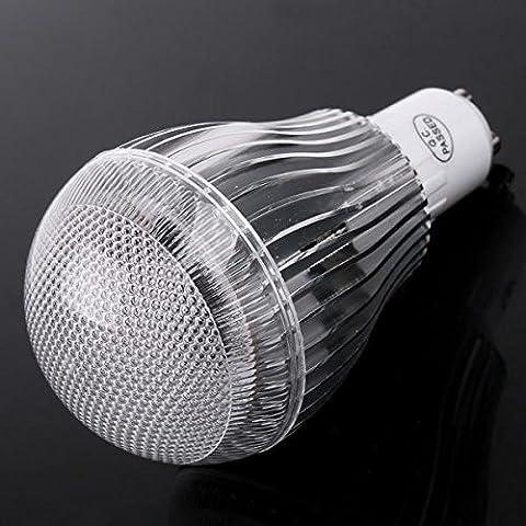 XIE@ AC 100-240V colorato RGB LED 9W GU10 lampada con
