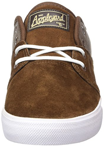 Globe Mahalo, Chaussures de Skateboard Homme Braun (Dark Earth/Walnut)