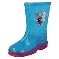 Girls Disney Frozen Wellingtons - Anna and Elsa