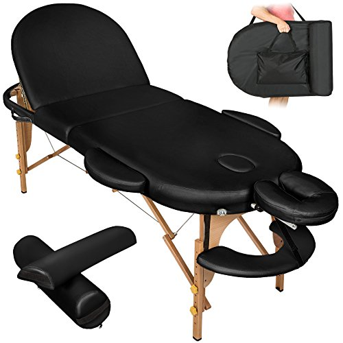 TecTake Massageliege - oval