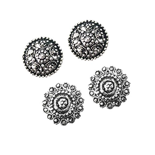 Beingwomen Navratri Special Antique Finely Detailed & Designer Oxidised Silver Plated earring Combo For Women & Girl …  available at amazon for Rs.75