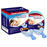 Night Guard Pro Mouth Guards | 2 X Double Gum Shield Tray by SnoreCure Remedies | Stop Snoring Mouthpiece Devices | Medically Verified and Proven to Help with Sleep Apnea, Headaches, Snore Relief & Sleep Breathing Problems | Bruxism and Anti Snore Mouth Guard | A Gum Shield that Protects from Teeth Grinding, TMJ and Clenching Teeth | Buy 2 Get Free Delivery And 10% Off Your Purchase