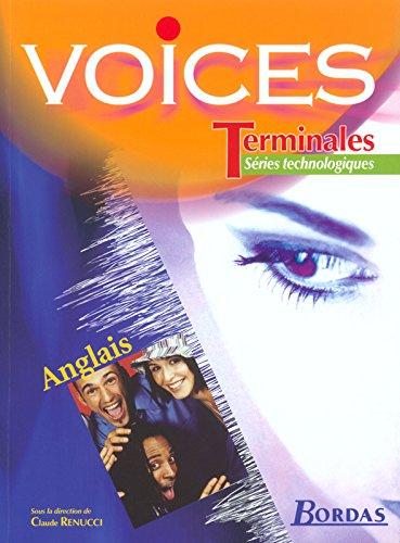 Voices : Anglais, terminale séries technologiques