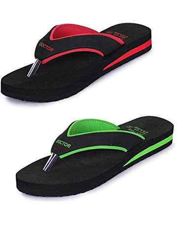 26f224deb3f TRASE Super Soft Doctor Ortho Slippers for Women (Also Available Combo Pack  of 2 Women