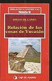 Relación de las cosas de Yucatán - Diego de Landa