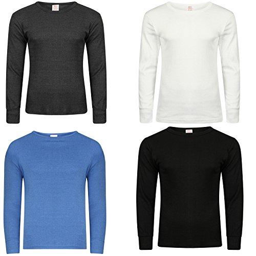 Men's Extreme Hot Thermal Underwear Long Sleeve Vest Winter & Ski Wear Free Post Size S-XXL