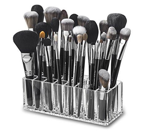 byAlegory acrylique maquillage pinceau organisateur   24 espaces
