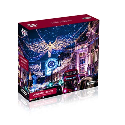 Gibsons G7206 Puzzle London Lights, 1000 Teile - London Street Lights