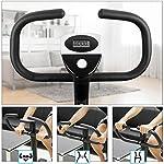 AGM-Fitness-F-Bike-Cyclette-Fitness-Home-Trainer-Bici-dAllenamento-per-la-Casa-Cyclette-da-Training-Aerobico-Fitness-Palestra-Sport-e-Tempo-Libero-Sostiene-Fino-a-100-kg-Nera-Nero