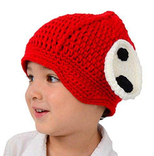Große Welpen Hat–Red Puppy Hund Hat mit (Kostüme Mais Erwachsene)