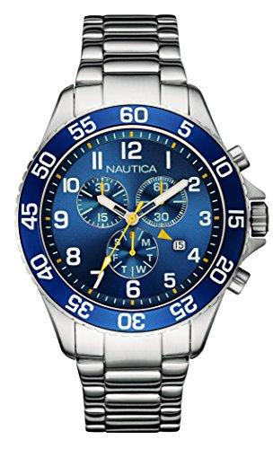 nautica-nai17508g-nst-19-montre-homme-quartz-analogique-cadran-bleu-bracelet-acier-argent