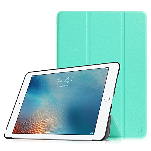 Fintie iPad Pro 9.7 Zoll Hülle - Ultradünne Superleicht Schutzhülle SlimShell Case Cover Tasche Etui mit Auto Schlaf / Wach und Standfunktion for Apple iPad Pro 9.7 Zoll (2016 Modell), Mint Grün