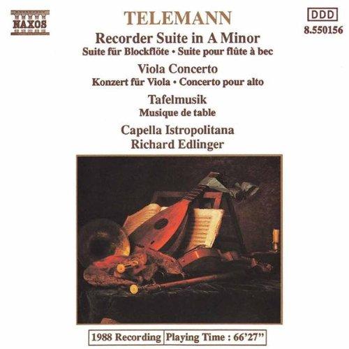 Viola Concerto in G major, TWV...