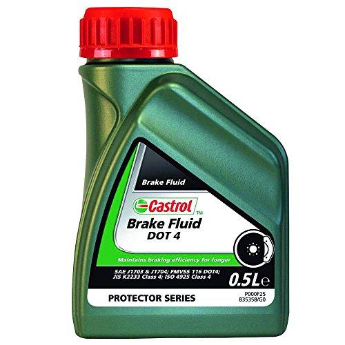 Castrol Brake Fluid Dot 4, 0.5L -