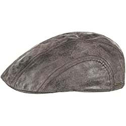 Gorra Newsboy de Piel Madison by Stetson
