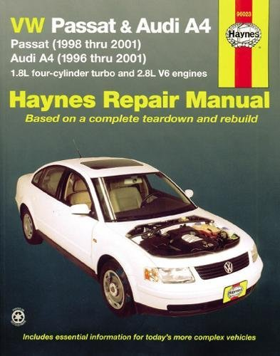 Haynes VW Passat & Audi A4 Automotive Repair Manual (Hayne's Automotive Repair Manual) por J. J. Haynes