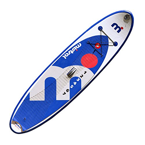 Bild 1:  Mistral Standup Paddel Board, Surf Allround I-Sup, Blau/Weiss/Grau, 9'8, 11-6000-098
