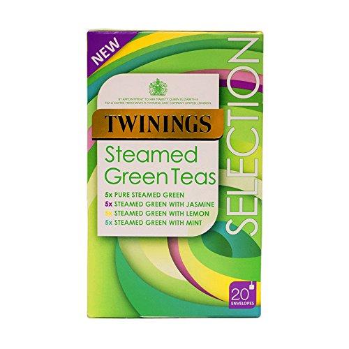 Twinings vapore tè verdi Buste - 2 x 20s - Partita Busta