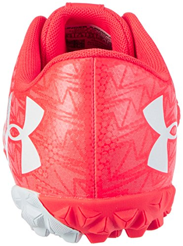 Under Armour Ua Cf Force 3.0 Tf, Chaussures de Football Homme Rouge (Neon Coral 611)