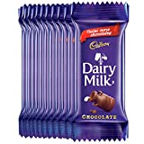 #8: Cadbury Dairy Milk Chocolate Bar, 23g (Pack of 30)