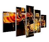 islandburner Bild Bilder auf Leinwand Bar Drinks Bartender Whiskey MF XXL Poster Leinwandbild Wandbild Dekoartikel Wohnzimmer Marke