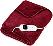 sinnlein® Calienta Camas   Manta Eléctrica   Con Desconexión Automática y Temporizador   9 Niveles de Temperat