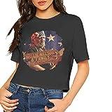 Photo de Love Lambert T-Shirt Manches Courtes à la Mode Femme Willie Nelson Family Top Court imprimé en Concert Confortable par Love Lambert
