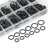 lovelifeast 300pièces Assortiment de joints en caoutchouc O Ring Joint torique Rondelle Noir Kit Fix Accessoires automatique