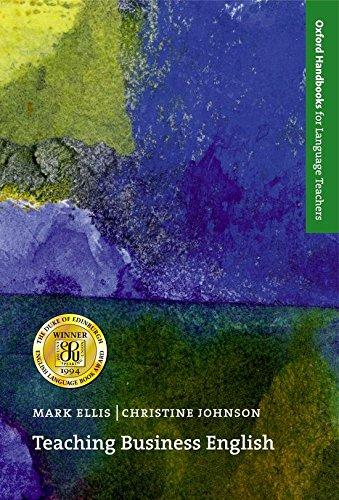 Teaching Business English (Oxford Handbooks for Language Teachers) por Christine Johnson
