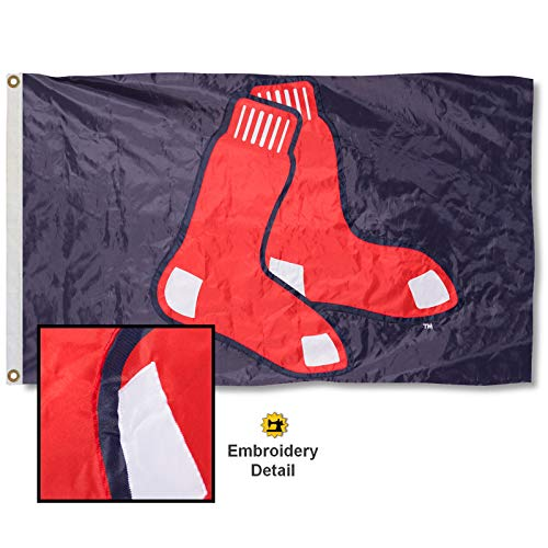 Wincraft Boston Red Sox Nylonflagge, Bestickt