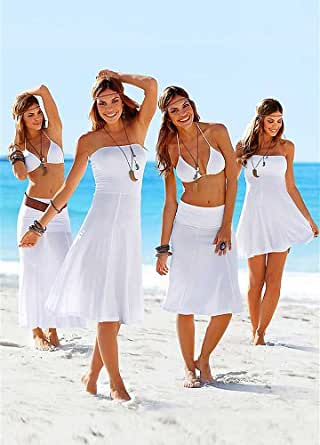Me&Angel Super Sexy Petit Taille S 32-34 Plage Blanche Robe Peignoir Robe Cover Up Robes