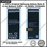 LAYCANZ OriginaI EB-BN910BBE [3220mAh] Battery with NFC Compatible for Samsung Galaxy Note 4