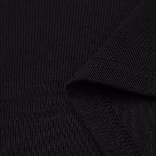 Sexy frauenhemden CLOOM Übergröße Bekleidung Damen Blusen Casual Hälfte Ärmel V-Ausschnitt Long Shirt Hoch Niedrig Saum T-Shirt Teilt Hoch Taille Sommer Bluse Oversized Longshirt Schwarz