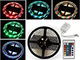 Lowprice Online 5 Meter Waterproof RGB Remote Control LED Strip Light-Color Changing