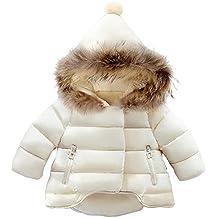 ARAUS Bebés Abajo Chaqueta Nieve con Capucha Abrigos Plumas Ropa Caliente Invierno Niños Niñas ...