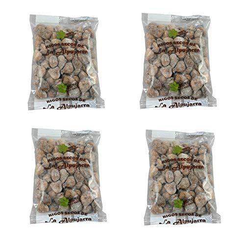 Getrocknete Feigen aus Spanien - 100% natürlich - Sonnengetrocknet - handverlesen - Superfood - Glutenfrei und Vegan - 4 x 500 g Packungen - 2,0 Kg