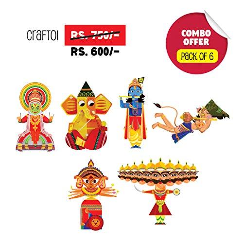 CrafToi-3D-DIY-Indian-Paper-Craft-Kit-Toy