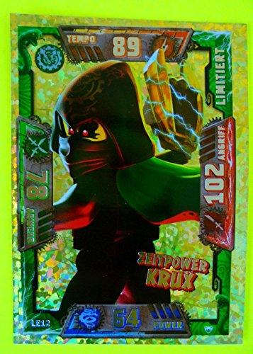 LEGO Ninjago Serie 2 Zeitpower Krux LE12 limitierte Auflage Trading Card Game NEU