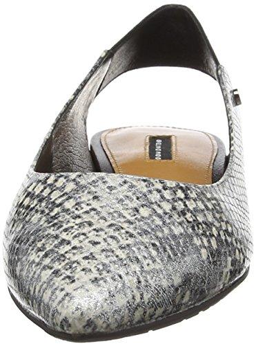Belmondo 703342, Ballerines femme Argent - Silber (argento combi)