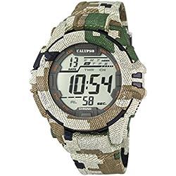 Calypso Herren-Armbanduhr Digital Quarz Plastik K5681/3